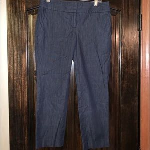 Ann Taylor Loft Size 2 Dark Denim colored pants